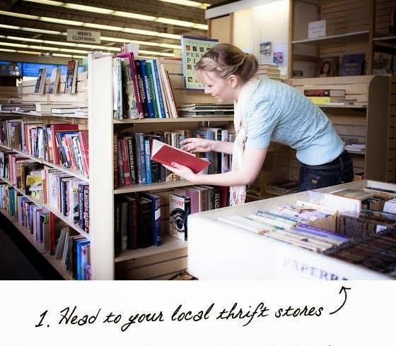 Cara Membuat Kerajinan Tangan Dari Barang Bekas - Headboard Buku Bekas 1