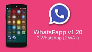 Download WhatsFapp v1.20 Apk - Two WhatsApp+ in One Device