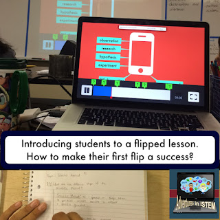 flipped classroom tip: how to have a successful first flip