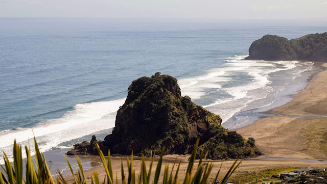 2 weeks in New Zealand Itinerary: Piha Beach
