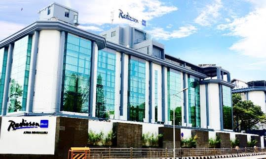 "Radisson Blu Atria Bengaluru Opens in ""The Garden City"" Bengaluru, India"