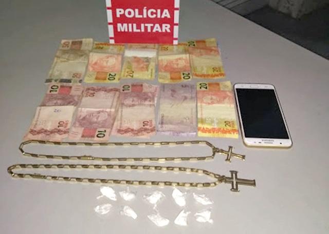 Policia Militar, durante operação Nômade, apreende Cocaína no sertão paraibano