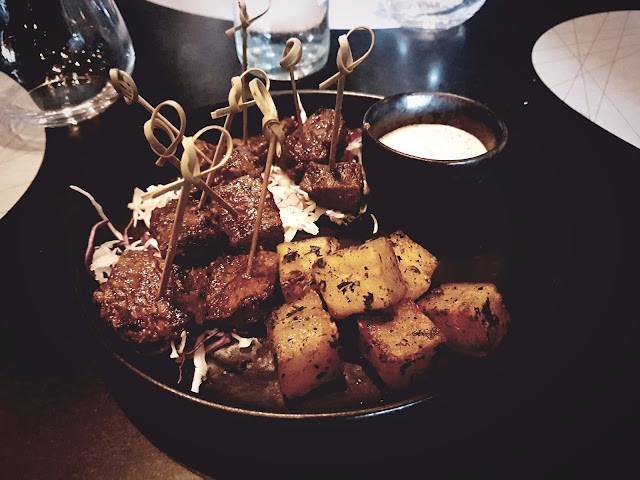 Black Pepper Tenderloin Lollipops - B+F Open Flame Kitchen, 360 Mall, Kuwait