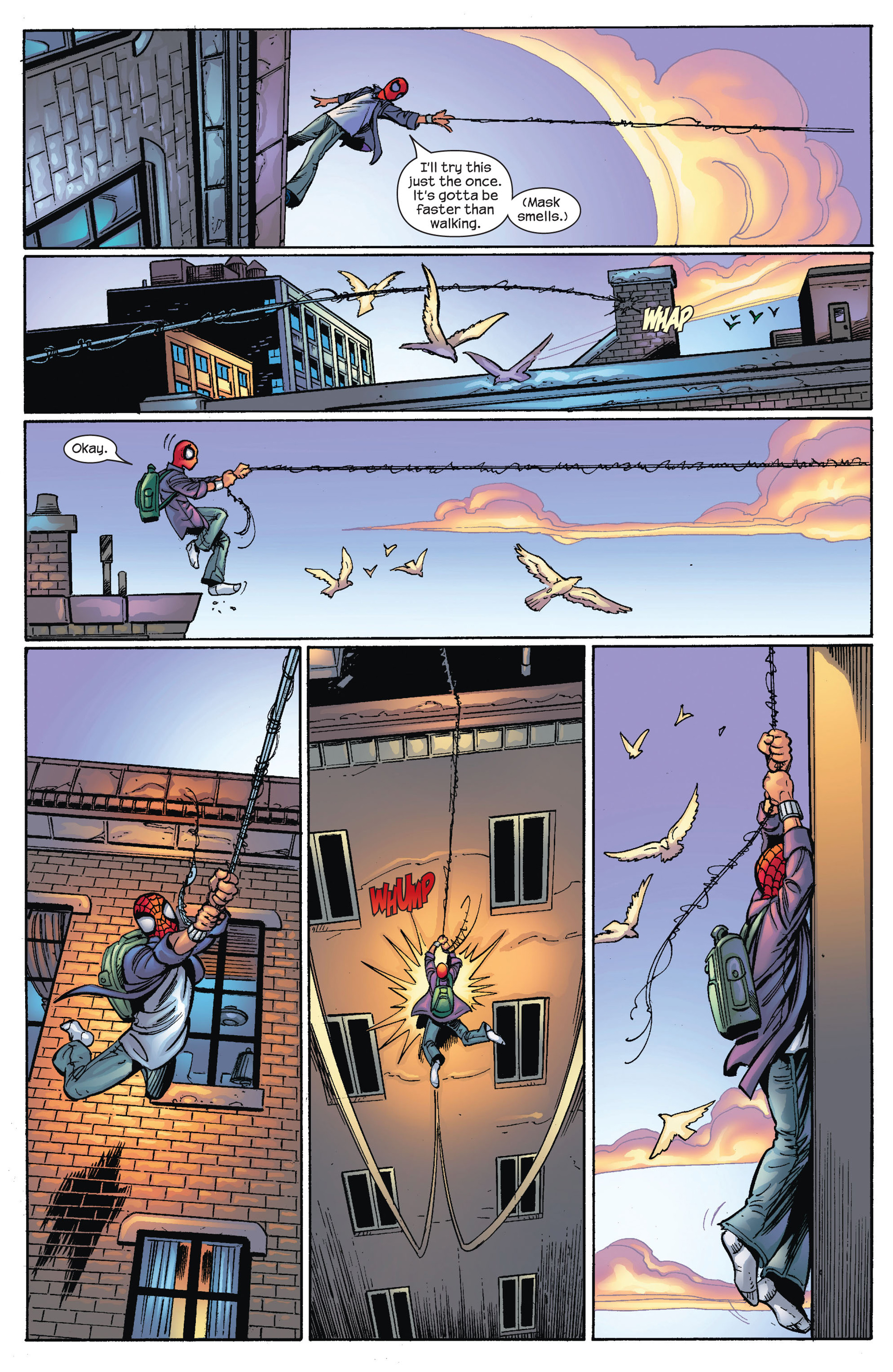 Read online Ultimate Spider-Man (2000) comic -  Issue #67 - 12