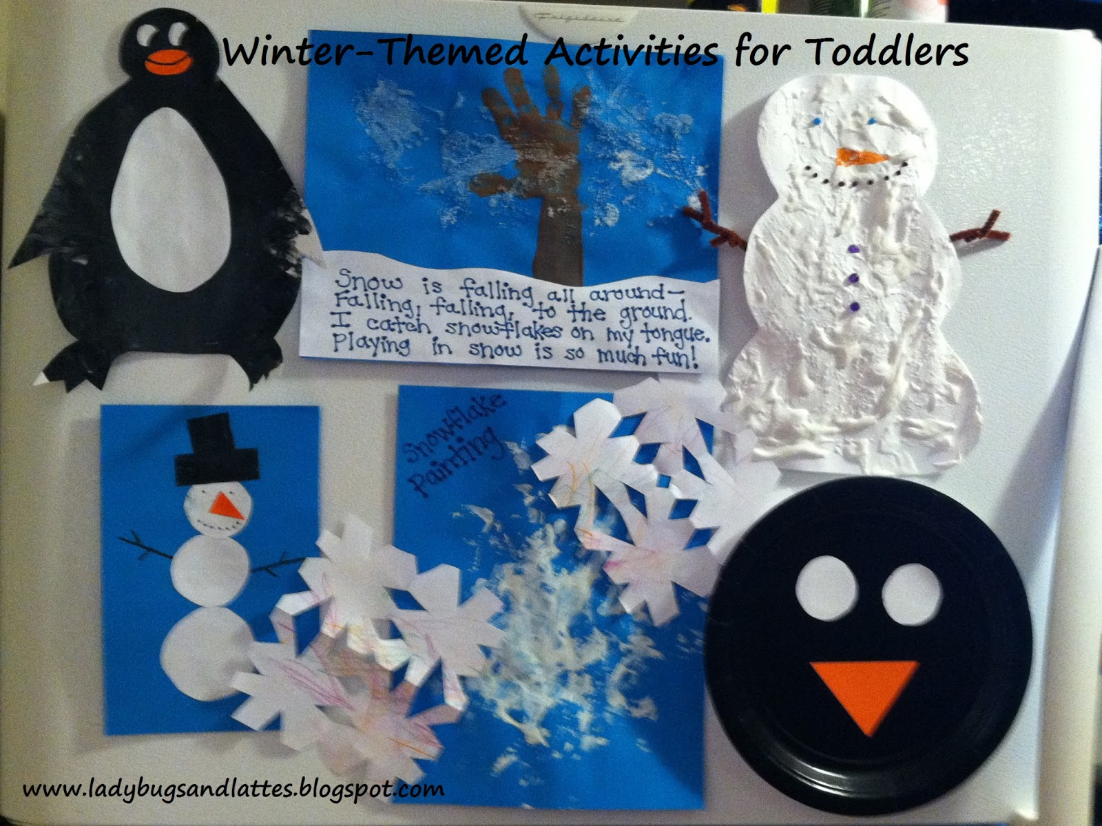 Ladybugs And Lattes Winter Themed Activities For Toddlers