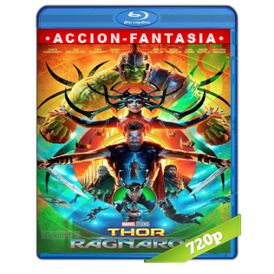 Thor Ragnarok (2017) BRRip 720p Audio Trial Latino-Castellano-Ingles 5.1