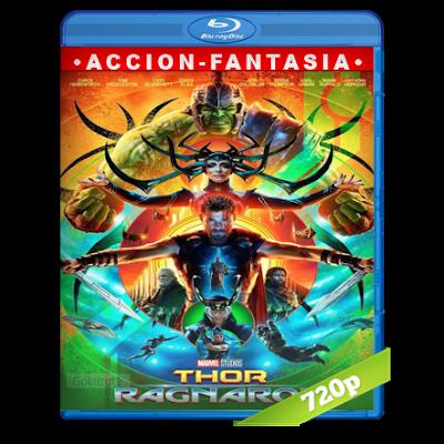 Thor Ragnarok (2017) BRRip 720p Audio Trial Latino-Castellano-Ingles 5.1