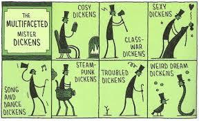 Meme de humor sobre Charles Dickens