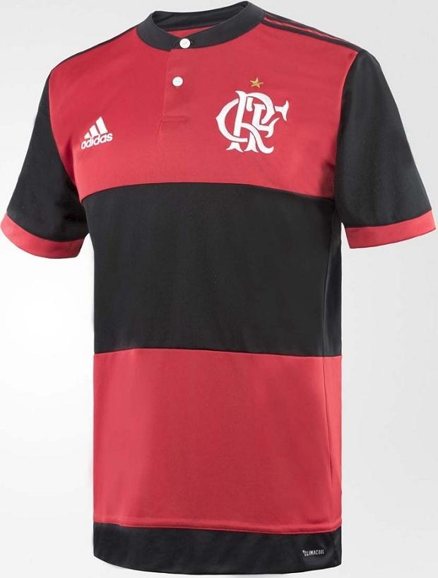 Adidas lança a nova camisa titular do Flamengo - Show de Camisas 6dd8566ad3be5