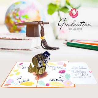 Pop Up Card Basics - Graduation