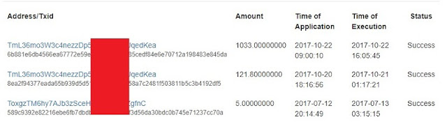 Bukti Withdraw Trycoin (TCO) Exchange ke Dogecoin Terbukti !! (New Cryptocurrency)