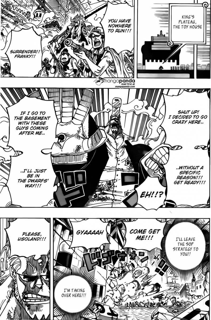 One Piece Ch 740: Please!!!