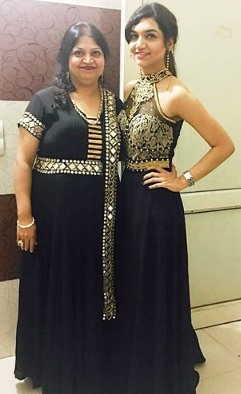 Kriti Verma with mother Kanchan