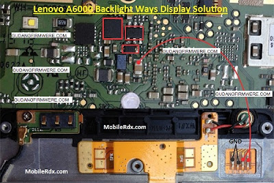 Mengatasi Lenovo A6000 Blank-Display