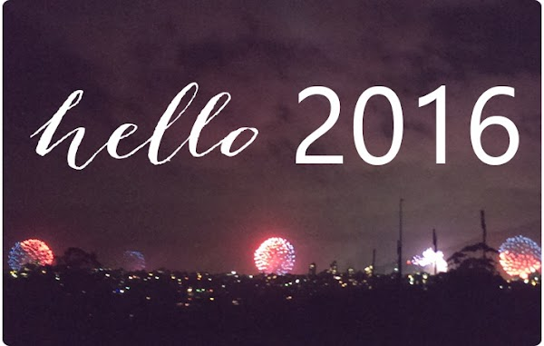 Thanks 2015, Hello 2016!