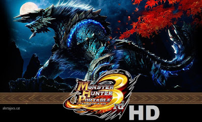 download Game PSP Monster Hunter Portable 3rd ISO For PPSSPP