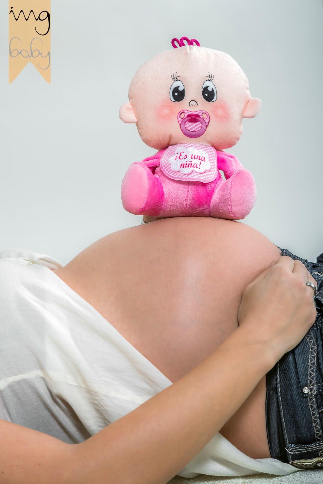Reportaje prenatal, fotografía de barriga