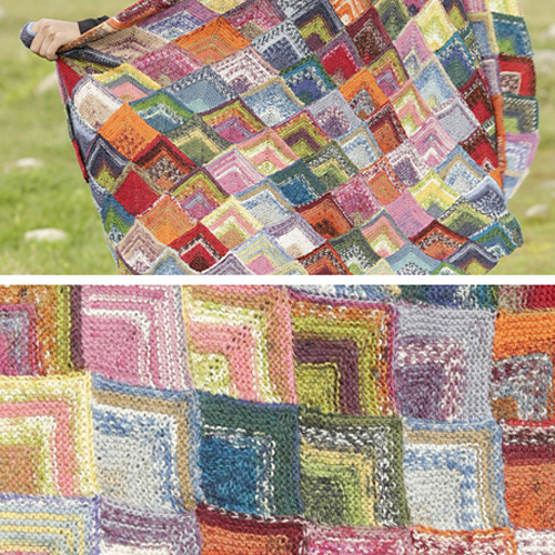 Lost & Found Blanket - Free Pattern
