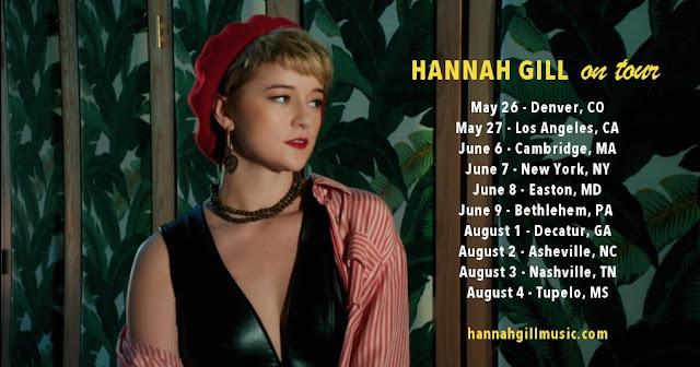 Hannah Gill - Tour