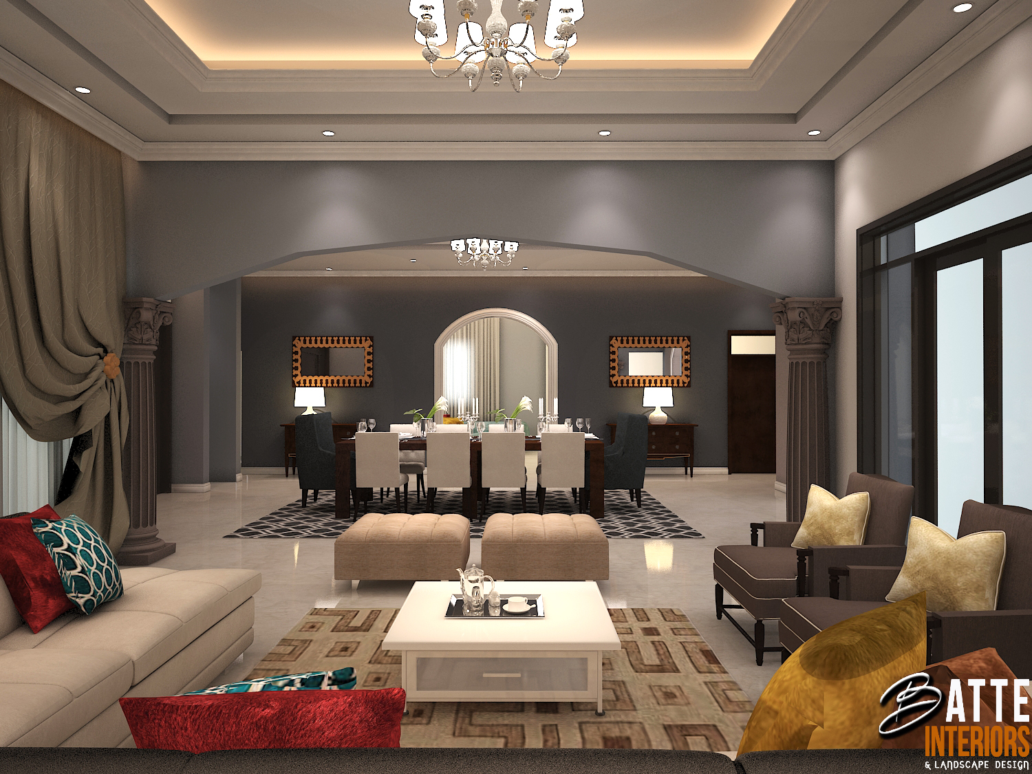 INTERIOR DESIGN UGANDA: MODERN TRADITIONAL NEOCLASSICAL INTERIOR ...