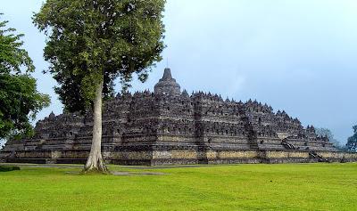 Candi Borobudur, Akulturasi Kebudayaan Nusantara dan Hindu Budha