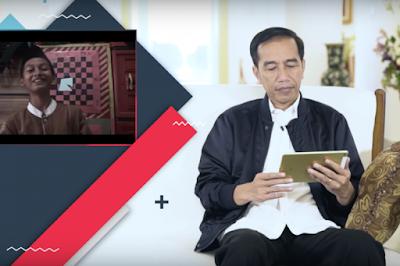 Naruto Bikin Jokowi Kebingungan