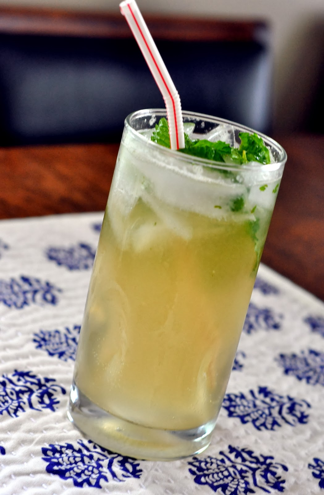 Ginger Mojito Mocktail | Taste As You Go