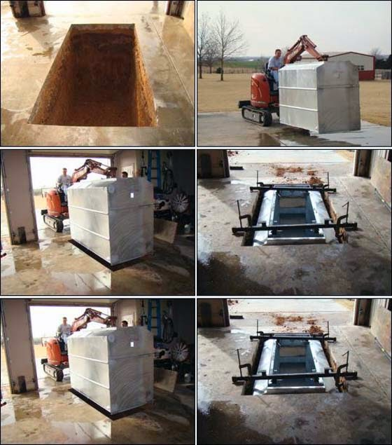 how to build storm shelter