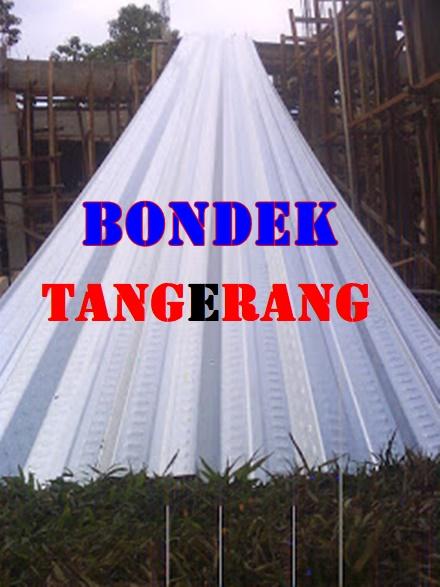 HARGA BONDEK BATUCEPER TANGERANG | BONDEK COR DAK MURAH