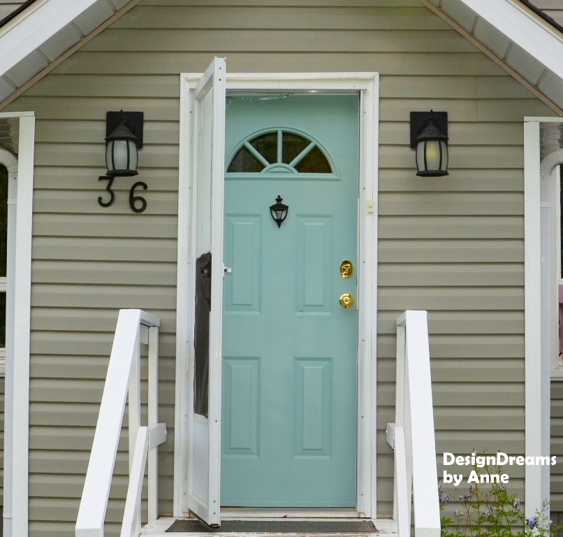 Designdreams By Anne Adding Curb Appeal On A Dime
