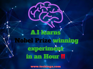 AI learns Nobel prize winning experiment in a hour!!