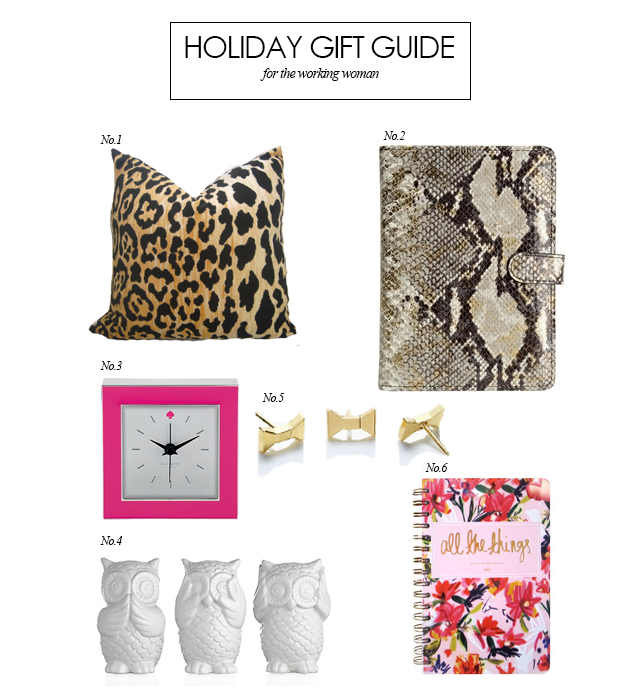 holiday gift guide for the office working woman