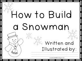 Mrs. Wheeler's First Grade Tidbits: Winter Writing-Fun