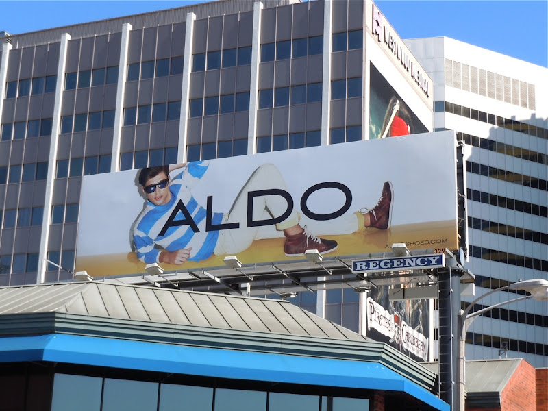 Aldo Shoes sunglasses 2011 billboard