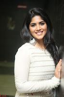 Megha Akash in beautiful White Anarkali Dress at Pre release function of Movie LIE ~ Celebrities Galleries 065.JPG