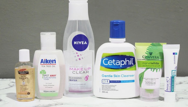 dermatologist recommended skin care regimen for acne