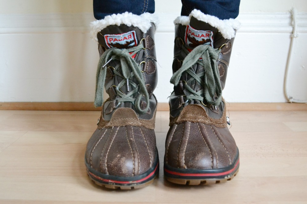 pajar snow boots lace up TK Maxx winter