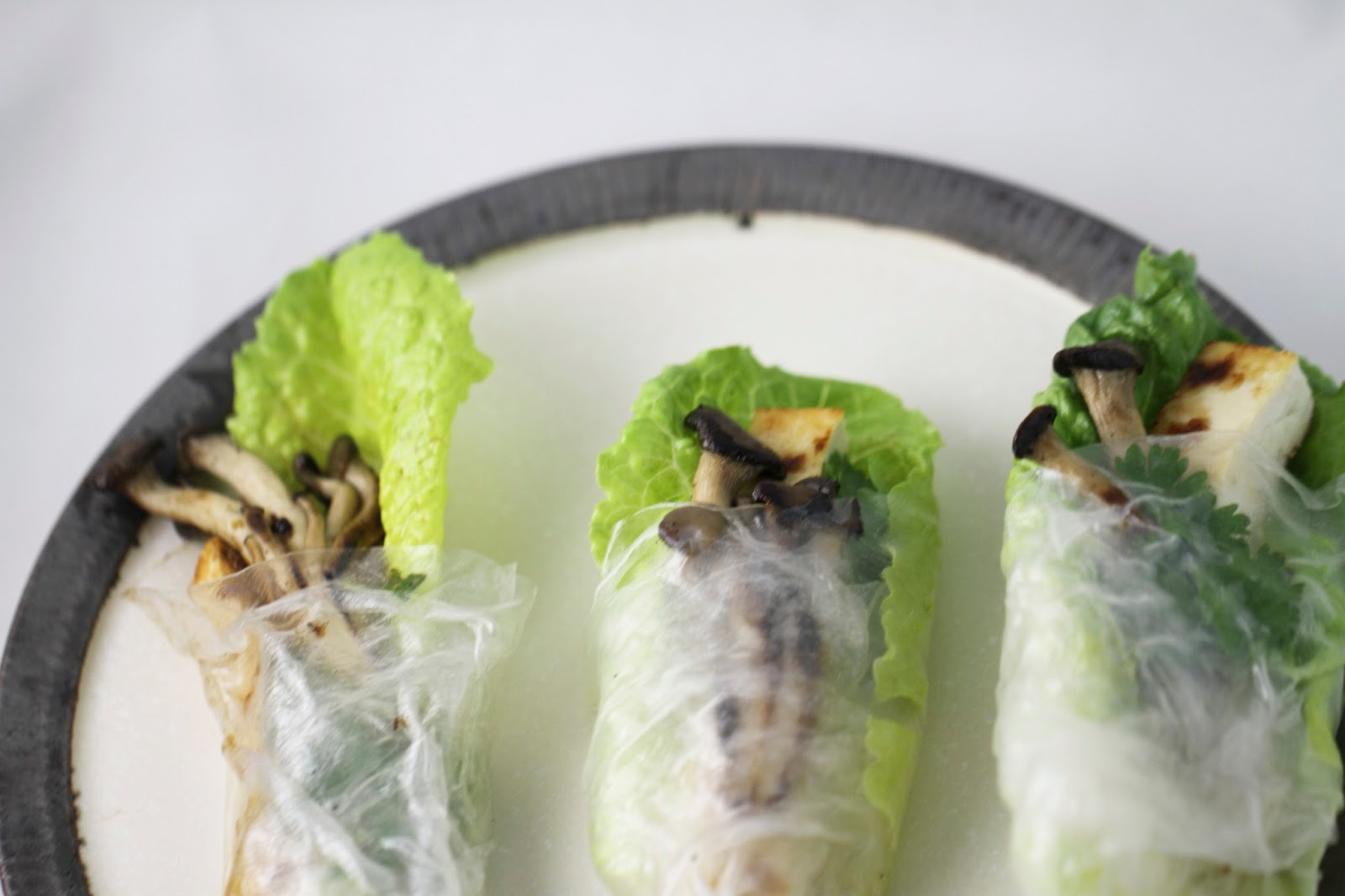Flour.ish.en Test Kitchen: Wintery Spring Rolls - IHCC's Food Goal