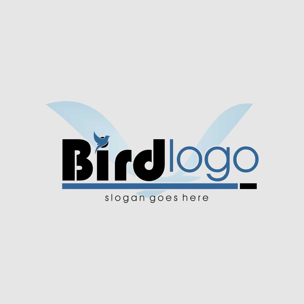 Bird Logo Design Template Free Download Vector CDR, AI, EPS and PNG Formats