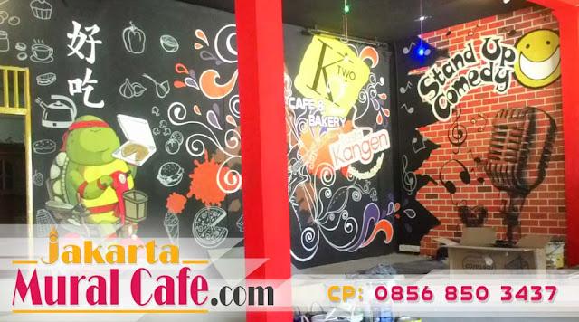 Juni 2019 Mural Cafe  Bandung Mural Cafe  Hitam Putih