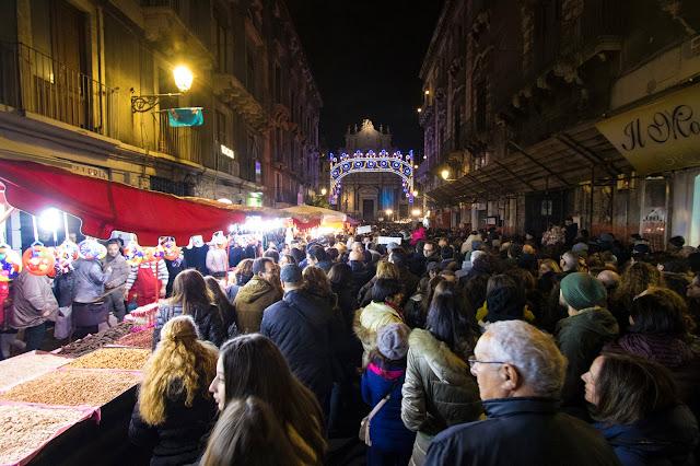 Festa di Sant'Agata a Catania 2018: i fuochi d'artificio