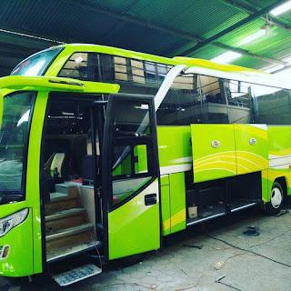 Bus Wisata Jogja Terbaru