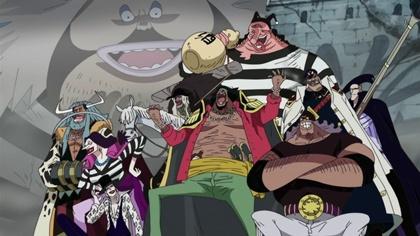 กลุ่มโจรสลัดหนวดดำ (Blackbeard Pirates) @ www.wonder12.com