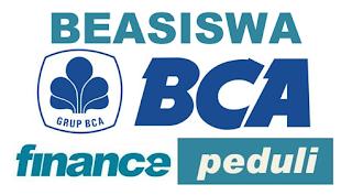 BEASISWA BCA FINANCE 2016 S1 DI INDONESIA PTN DAN SELURUH PTS