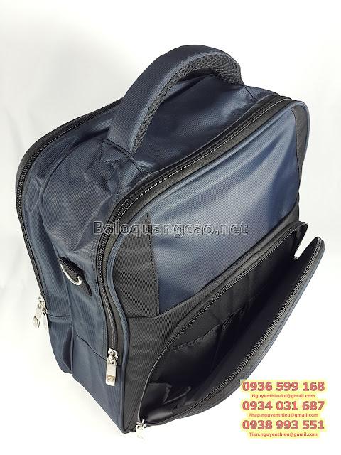 Nơi may balo laptop, balo laptop uy tín giá rẻ tphcm, Công ty may balo túi xách quà tặng giá rẻ hcm