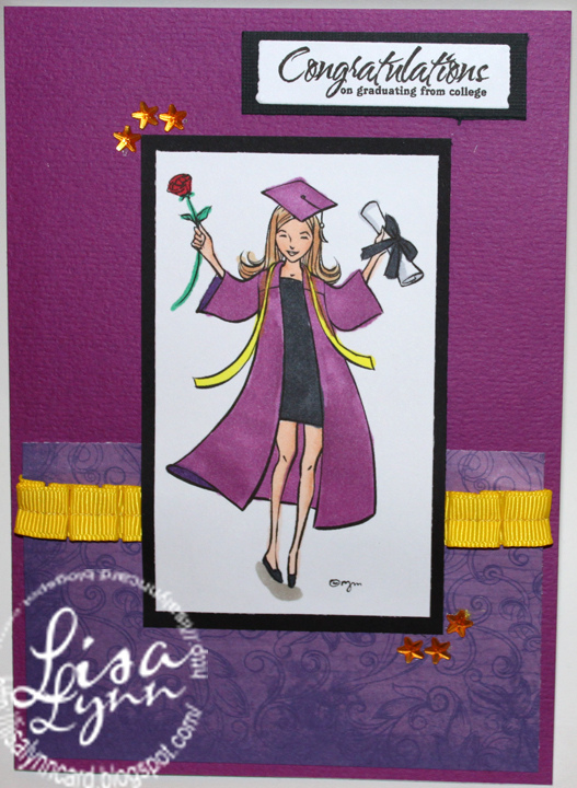 Lisa Lynn\u0027s Card Creations Congratulations on graduating from college - congratulations on graduating