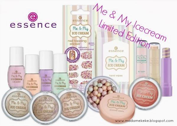 essence ME & MY ICECREAM Limited Edition - Preview