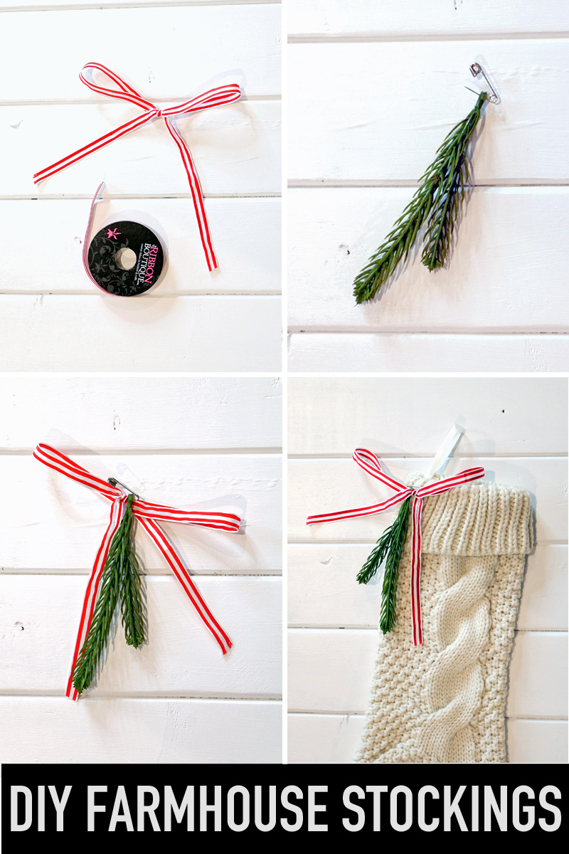 DIY Farmhouse Stocking Topper