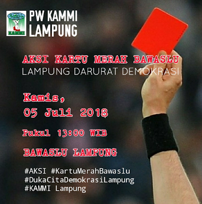 Dinilai Lamban, KAMMI Lampung Akan Kepung BAWASLU