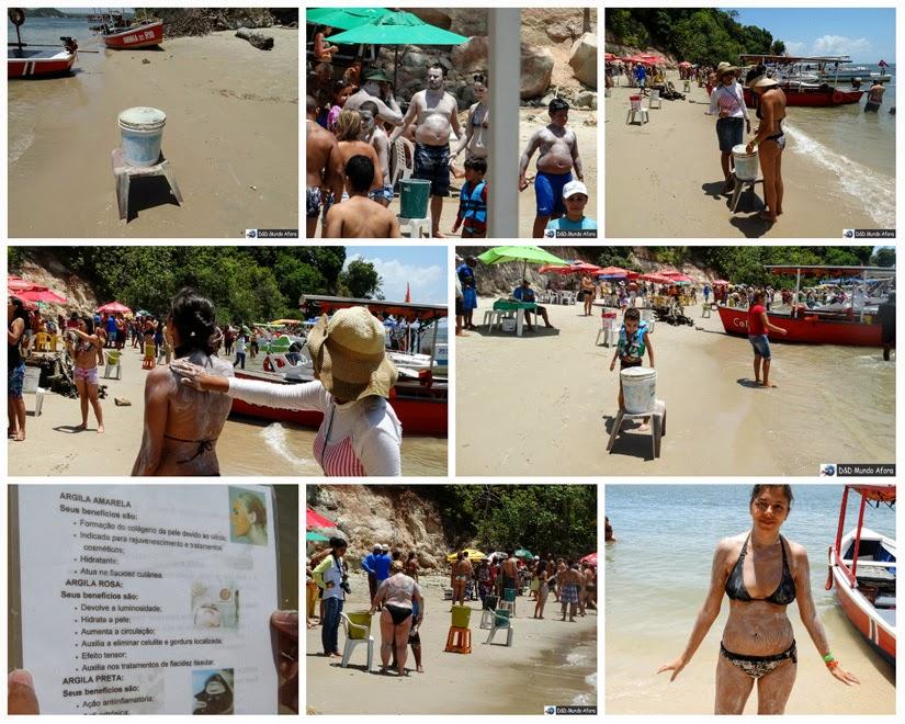 Banho de argila - o que fazer na Praia de Carneiros (Pernambuco)